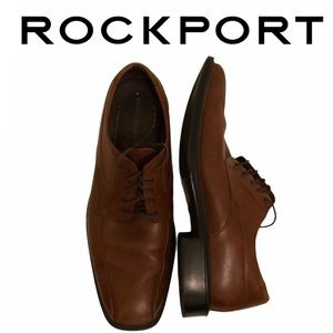 Rockport brown leather shoes